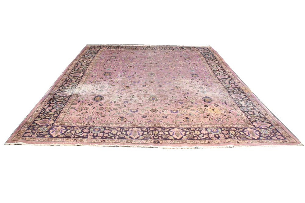 Alfombra orientale antiguo India